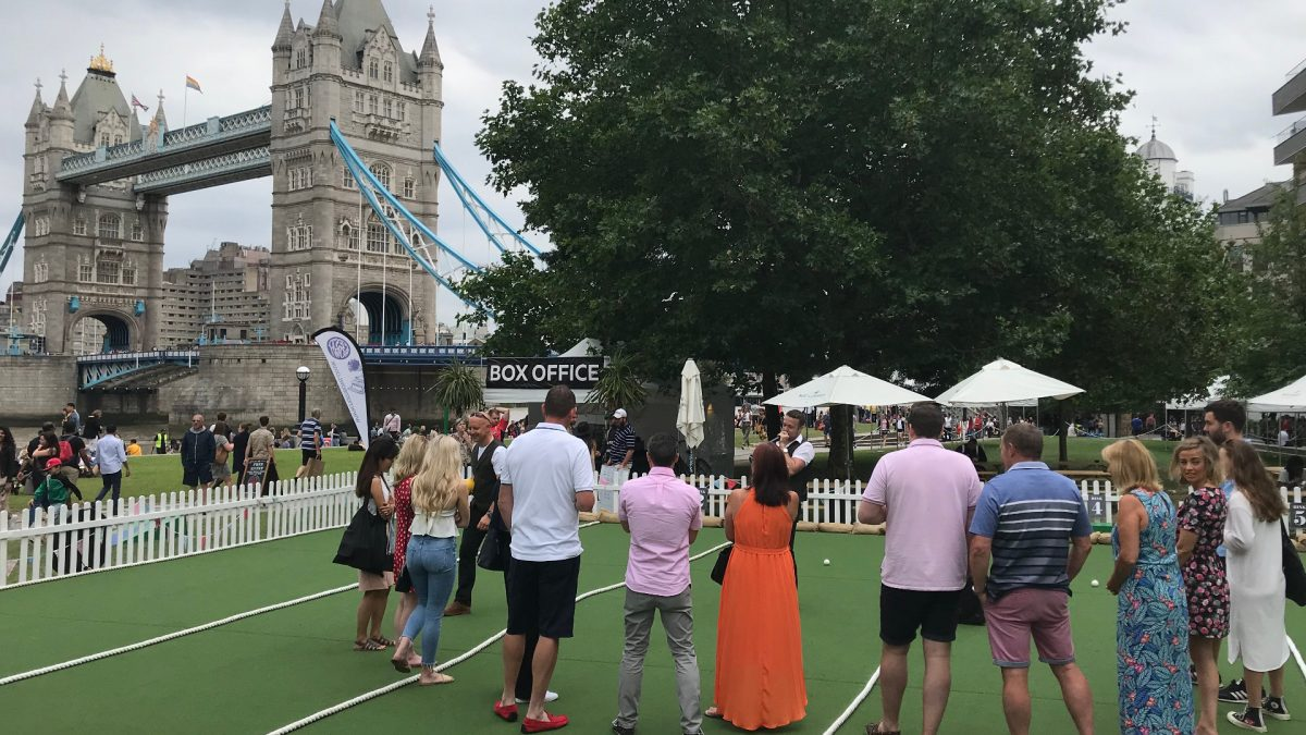 Royston bowlers take on Festibowl London