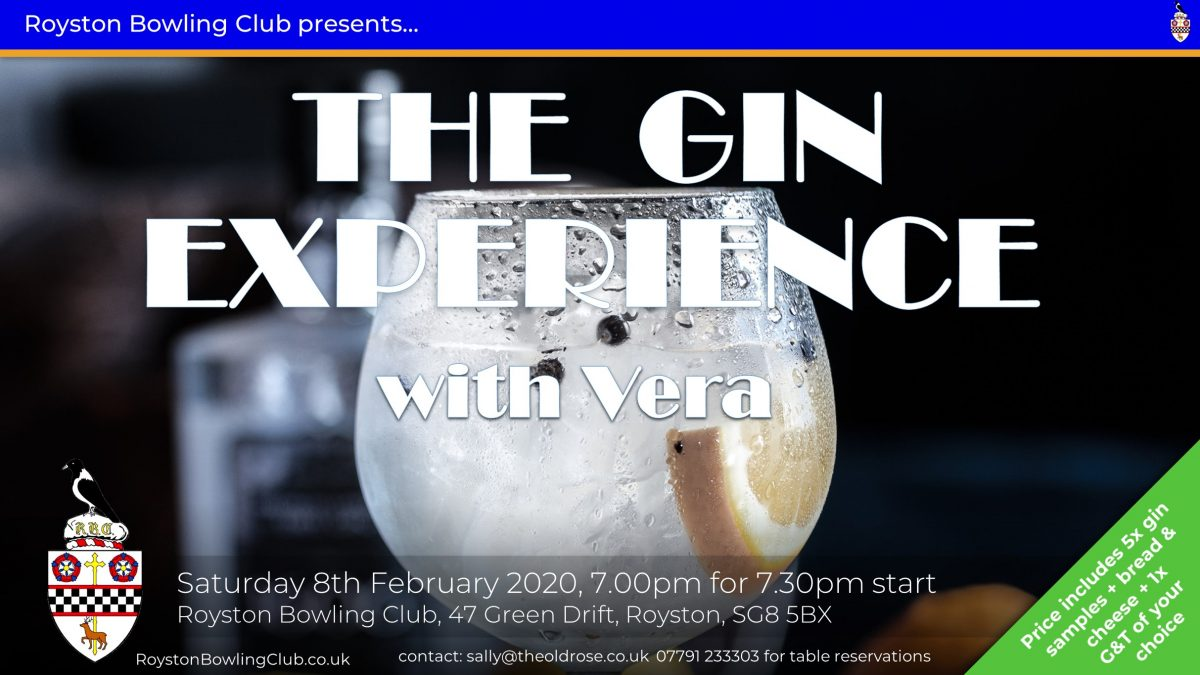 Gin Experience Feb 2020